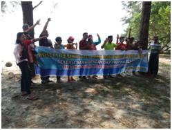 Bersama Tokoh Agama, DKP Provinsi lepas Tukik di Pantai Lentera Merah Bengkulu